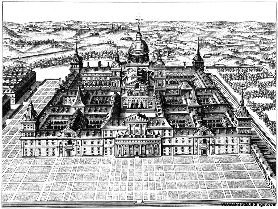 El Escorial Monastery Madrid