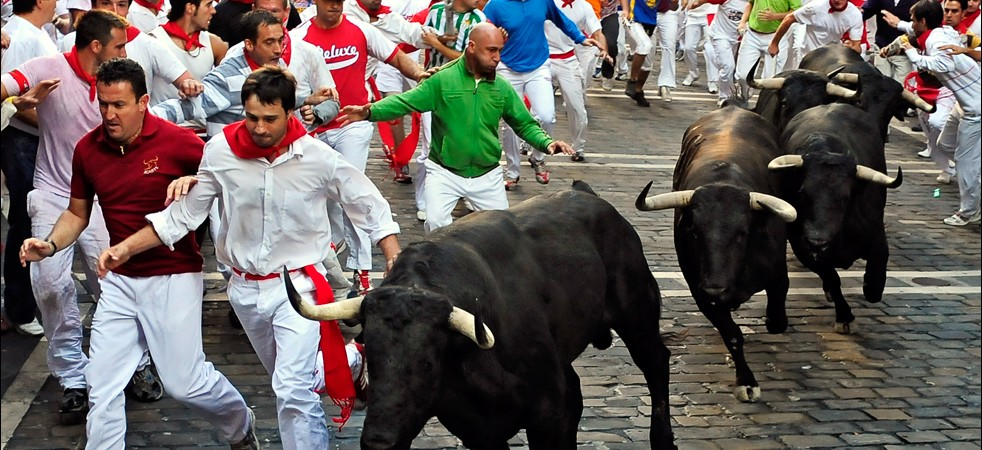 Guide to Pamplona Spain. It Rains in Spain Guides.