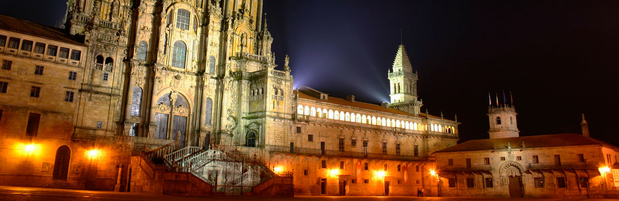 Guide to Santiago de Compostela Spain. It Rains in Spain.